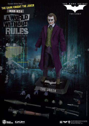 Beast Kingdom Batman The Dark Knight Dynamic 8ction Heroes Figure 1/9 The Joker 21 cm Pre-Order